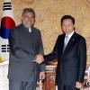 韩国、巴拉圭首脑会谈,商讨强化经济合作