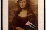 戴贝雷帽的蒙娜丽莎肖像
