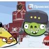 """俄罗斯信用卡""""愤怒的小鸟"""""""