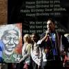 南非热烈庆祝曼德拉94岁生日