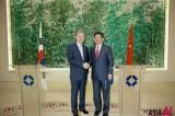 """韩中FTA磋商揭幕,促进""""亚洲经济统合"""""""