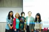 亚洲记者协会王璇,韩国东国大学讲解中国传统文化