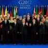 中国国家主席胡锦涛参加G20正常会谈