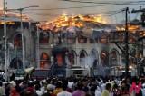 克什米尔寺院大火触发反印情绪