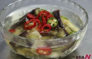 韩式凉汤拌茄子
