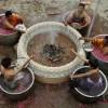 祈雨节上的印度教祭司
