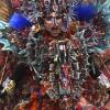 色彩斑斓的印度尼西亚服装表演