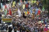 日本爆发大规模反核电示威