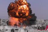 烟火缭绕的叙利亚霍姆斯