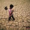 饱受干旱天气煎熬的印度农民