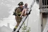 火灾中的救援