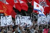 俄罗斯爆发反政府集会示威