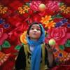 阿富汗杂技团少女表演