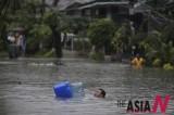菲律宾暴雨吞没奎松城