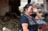 中国多处地区遭受洪水暴雨袭击