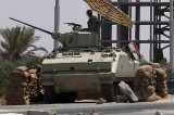恐怖组织猖獗 埃及坦克入境