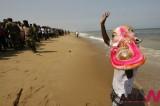 孟加拉湾庆祝印度教节