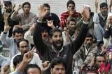 印度克什米尔罢工