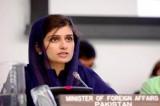 巴基斯坦美女外长与总统独子婚外情缘