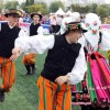 """韩国""""世界传统民谣节""""歌舞团翩翩起舞"""