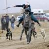 吉尔吉斯坦狩猎节尽显英姿