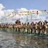 南缅甸佛教宝塔节庆典