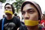 """菲律宾民众抵制""""网络犯罪预防法案"""""""