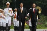 俄罗斯总理访越磋商协作发展目标