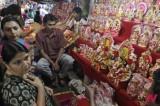 印度各大城市准备宗教灯节