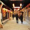 中国海尔滨仿古街一景