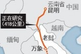 """中国泛亚高铁老挝遇""""红灯"""""""