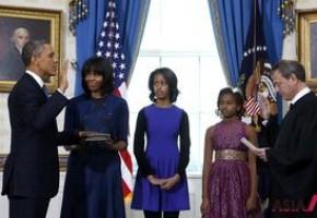 奥巴马连任就职仪式体现多种族与多样性