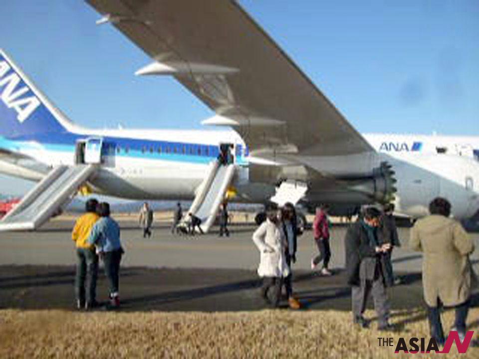 日本波音787飞机连发事故全面停飞